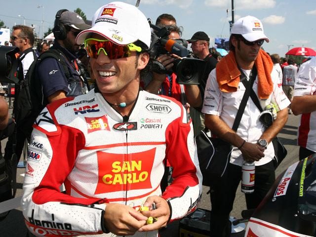 Toni Elías, con Gresini en Moto2