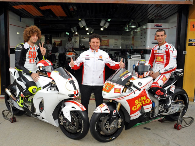 ZeroRH+, nuevo patrocinador del equipo San Carlo Honda Gresini