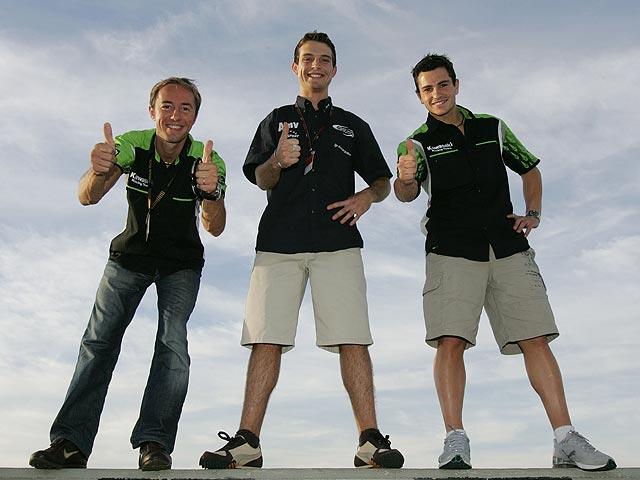 Olivier Jacque con Kawasaki Racing en 2007