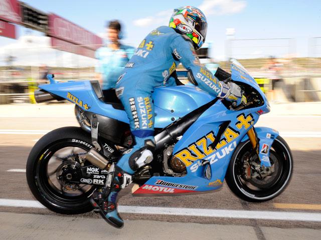 Suzuki y Rizla siguen juntos en MotoGP