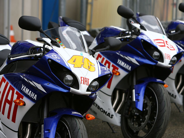 El equipo Fiat Yamaha descubrirá su moto en Sepang