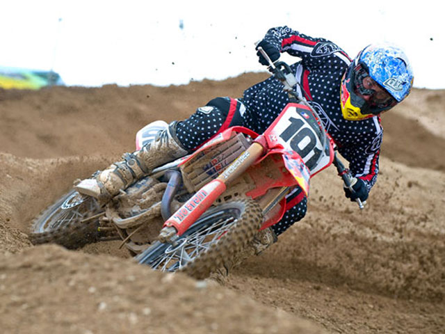 Ben Townley, en el Mundial de Motocross con Honda