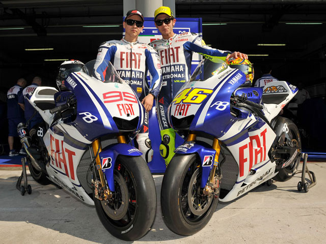 Rossi y Lorenzo no compartirán telemetría