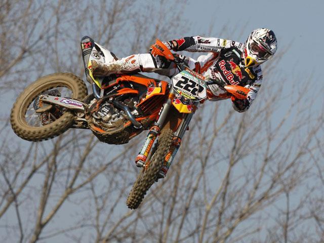 Antonio Cairoli gana en Mantova con la KTM 350