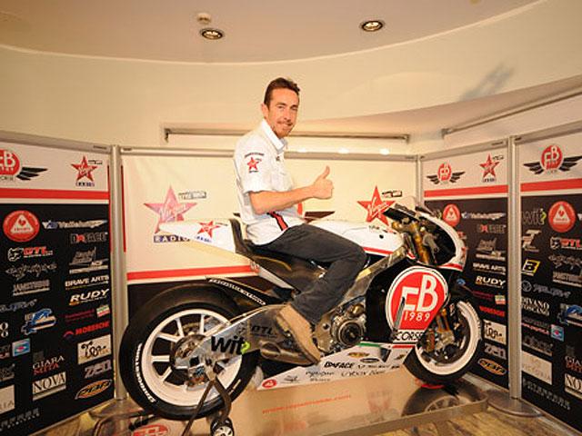 Presentación del equipo FB Corse de MotoGP