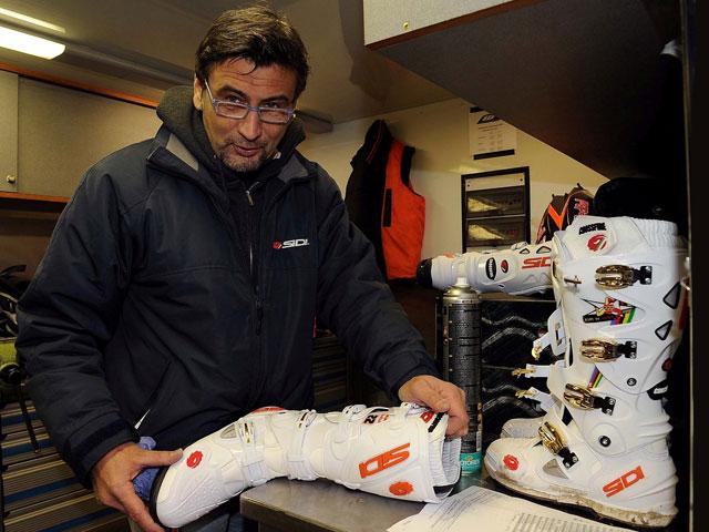 Sidi presenta las botas de motocross de Antonio Cairoli