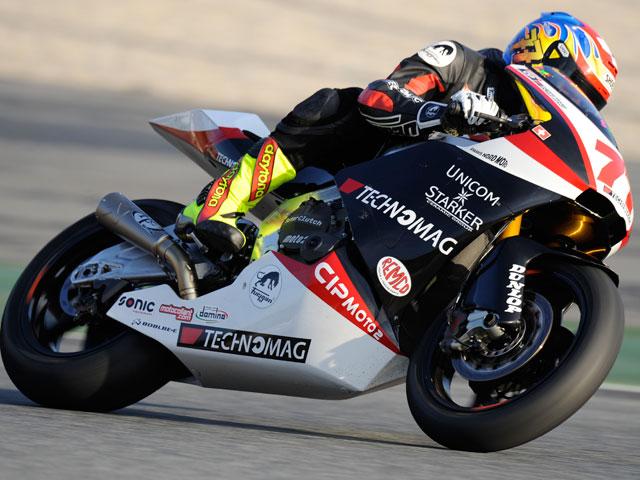Entrenamientos de Moto2 y 125 en el Circuit de Catalunya