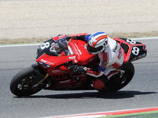 Del Amor, con Ducati en Stock Extreme en el CEV