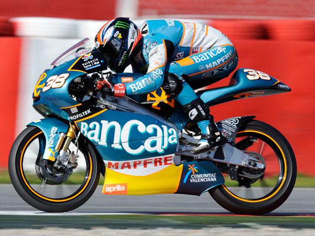 Nico Terol, mejor tiempo de 125 cc en la segunda jornada