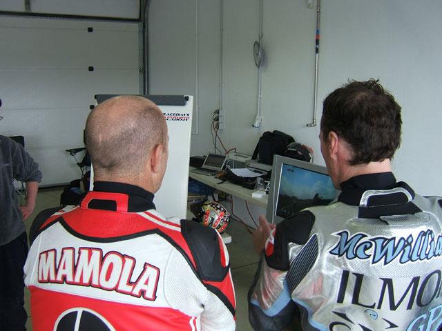 Randy Mamola, profesor de la Superbike Academy