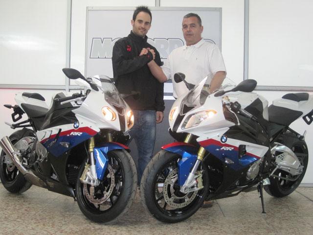 Javi Forés, con BMW en el CEV