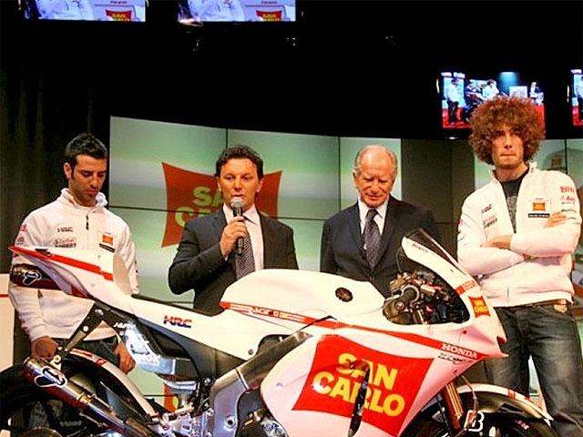 Presentado el equipo San Carlo Honda Gresini