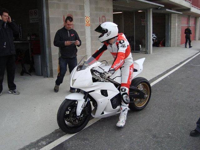 La ArbizuGP de Moto2 rueda en circuito