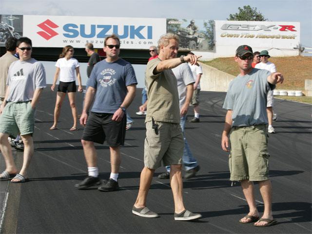 Curso de conducción con Kevin Schwantz