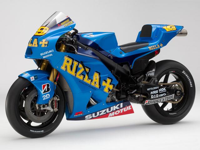 Rizla Suzuki GSV- R 2010, primeras imágenes