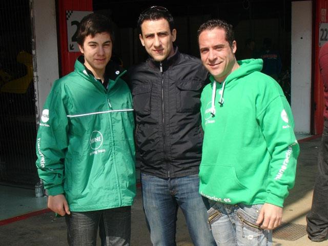 José David De Gea ficha por el Hune Racing Team
