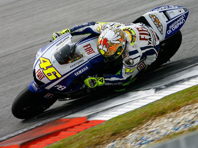 Rossi en MotoGP hasta 2012