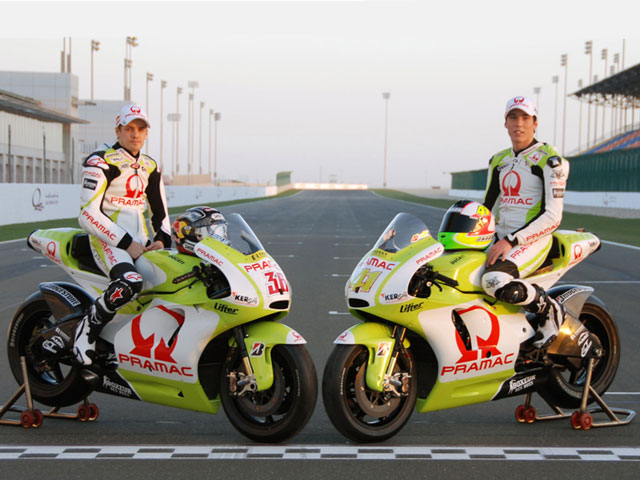 Nuevos colores para las Ducati del Pramac Racing