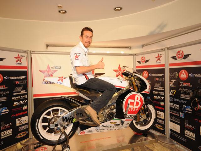 La FB Corse de MotoGP, en espera