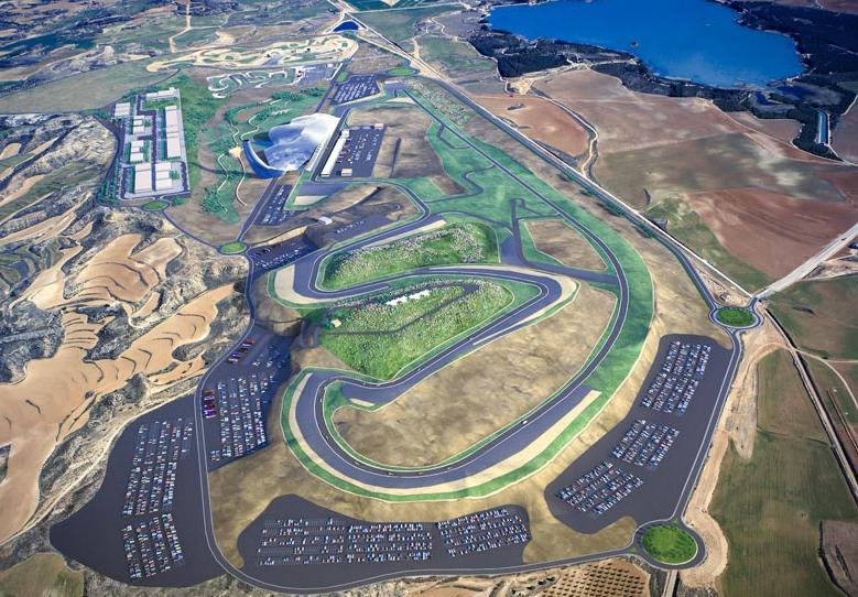 Motorland listo para el GP de Aragón