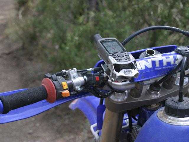 GPS off road para la moto de campo