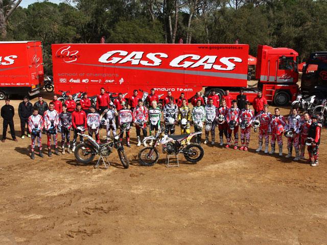 Gas Gas presenta sus equipos de trial y enduro