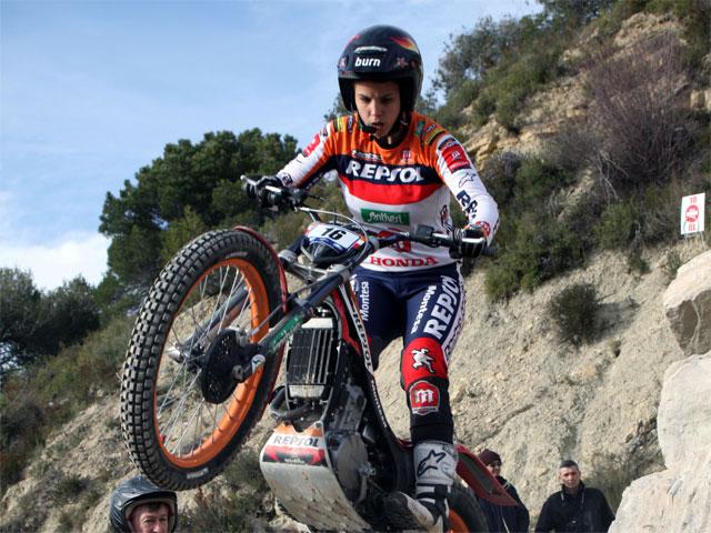 Laia Sanz se impone en el Trial de Italia