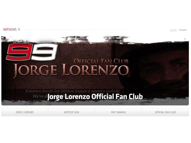 Jorge Lorenzo lanza su nueva web