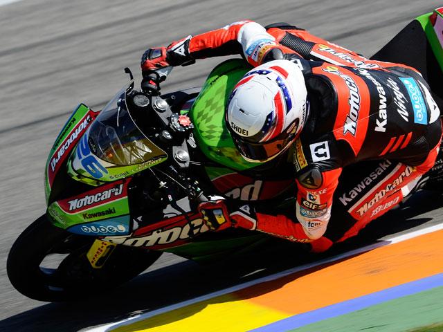 Victoria de Joan Lascorz en Supersport en Valencia