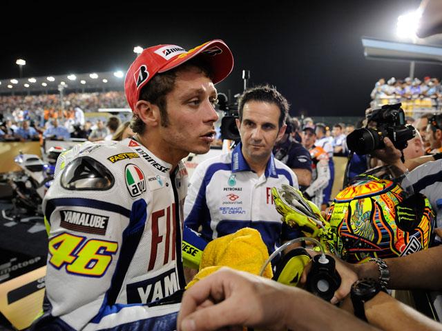 """Valentino Rossi: """"Lorenzo no estaba al tope y ha quedado 2º"""""""