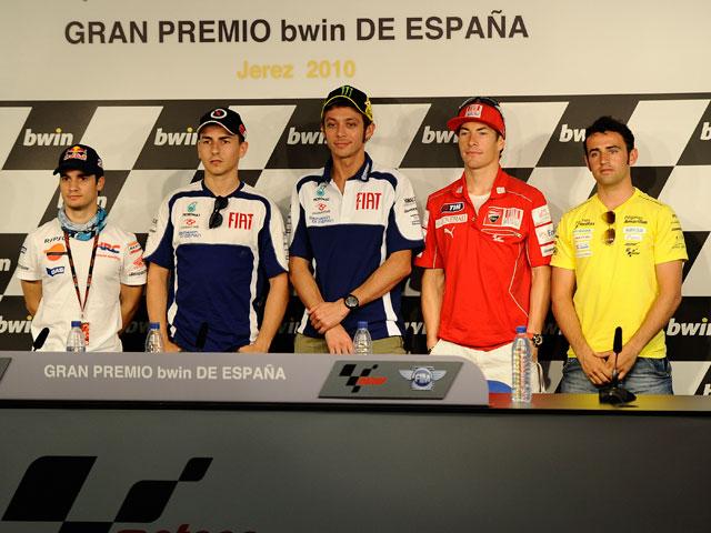Comienza el Gran Premio de España de MotoGP
