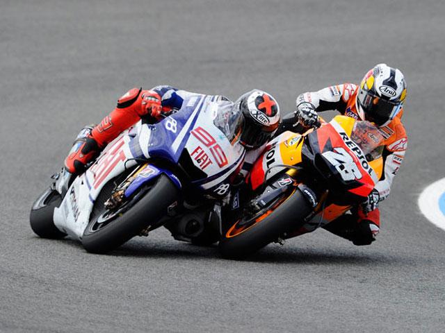 Fotos de la victoria de Jorge Lorenzo en el Gran Premio de España