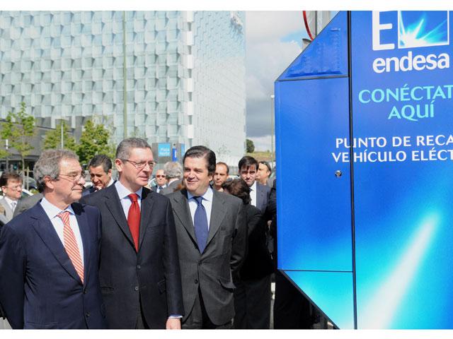 Cabina telefónica para recargar vehículos eléctricos