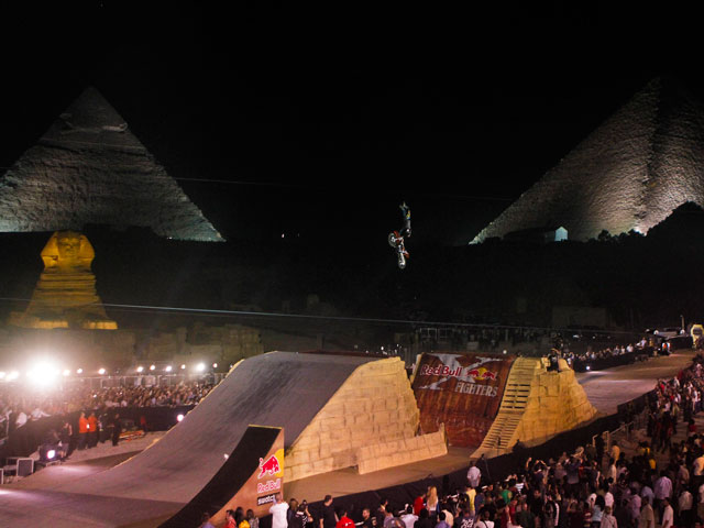 Red Bull X-Fighters, en El Cairo
