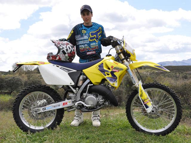 Marcelo López, piloto del equipo Suzuki-Basi