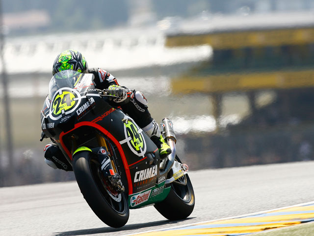 Toni Elías, victoria en el GP de Francia y líder de Moto2