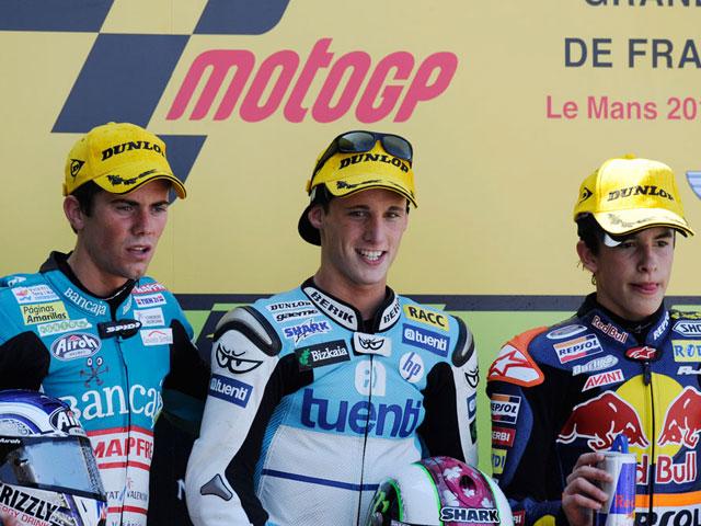 Fotos de 125 cc y Moto2 en el GP de Francia