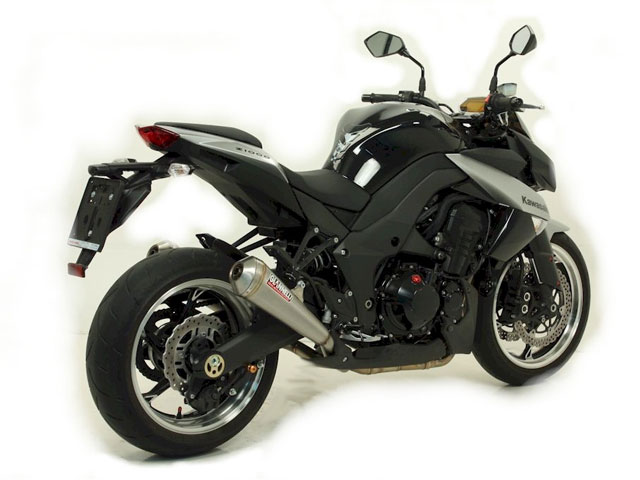 Escape Giannelli para la Kawasaki Z1000