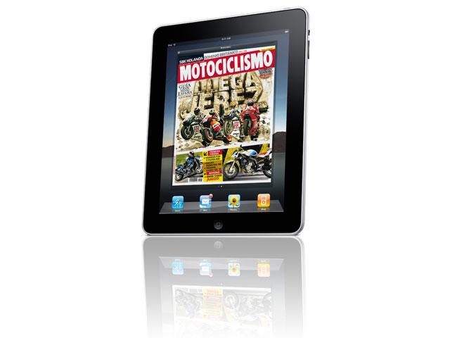 MOTOCICLISMO ya está listo para el Apple Ipad