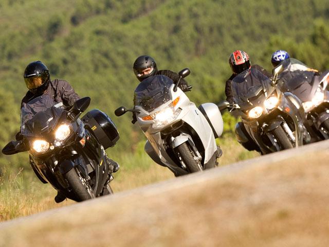 Campaña de la DGT de control de motos y motoristas