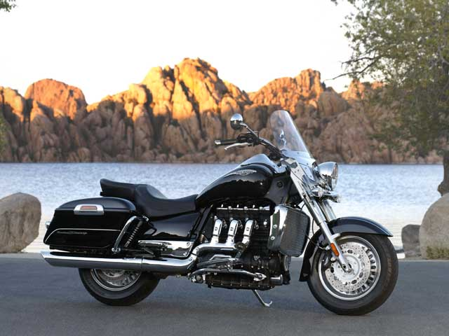 Triumph Rocket III Touring, con ABS