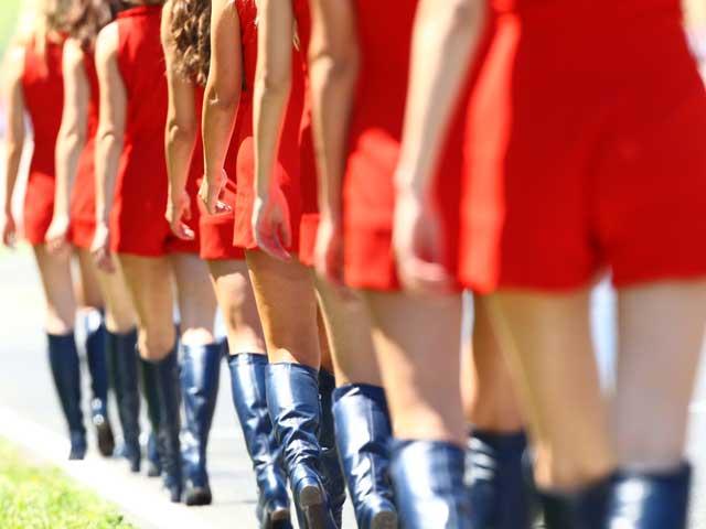 Las chicas del Gran Premio de Italia 2010