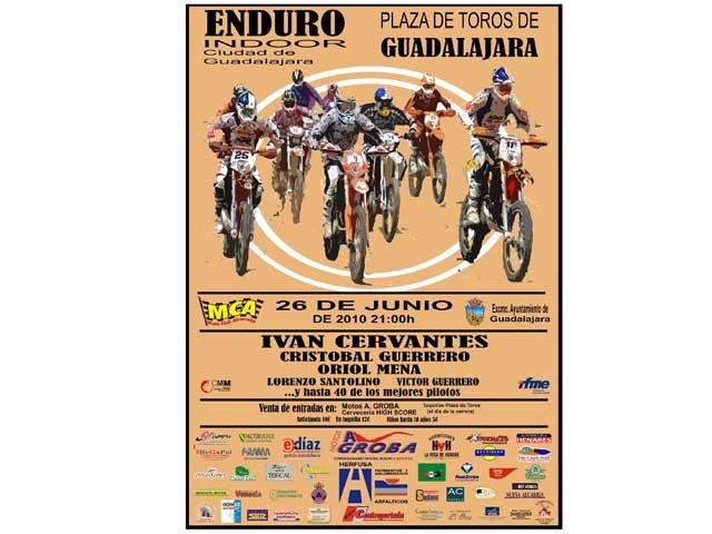 El Enduro Indoor de Guadalajara calienta motores
