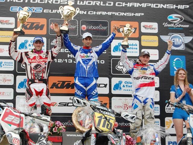Victoria de Michael Marcandino en el Europeo de Motocross