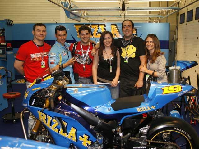 Disfruta del GP de Catalunya con el Suzuki Rizla Team