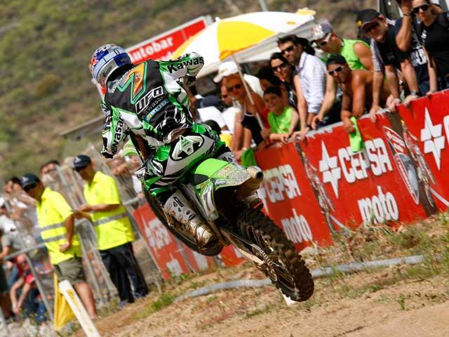 Jonathan Barragán reaparece en el Mundial de Motocross