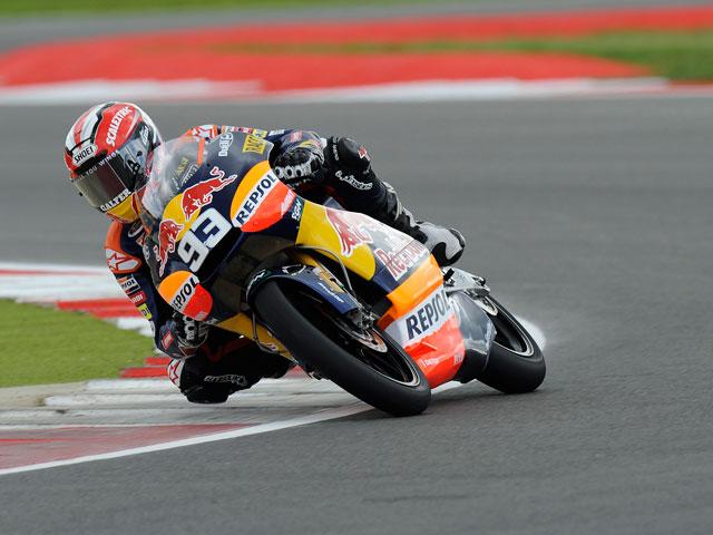 Victoria de infarto para Marc Márquez en el circuito de Silverstone