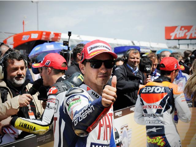 """Jorge Lorenzo: """"En Yamaha esperamos que Valentino regrese cuanto antes"""""""