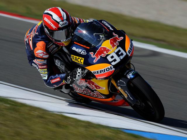 Márquez, Terol y Espargaró, podio de 125 cc en el GP de Holanda