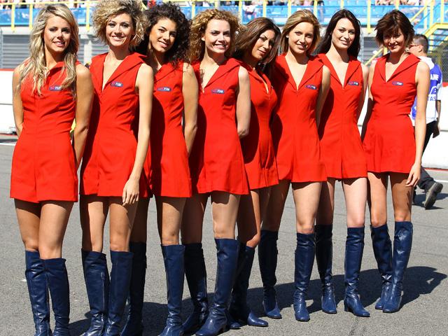 Las chicas del Gran Premio de Holanda